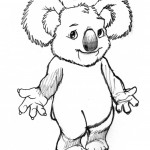 Koala Coloring Pages for Kids Photos