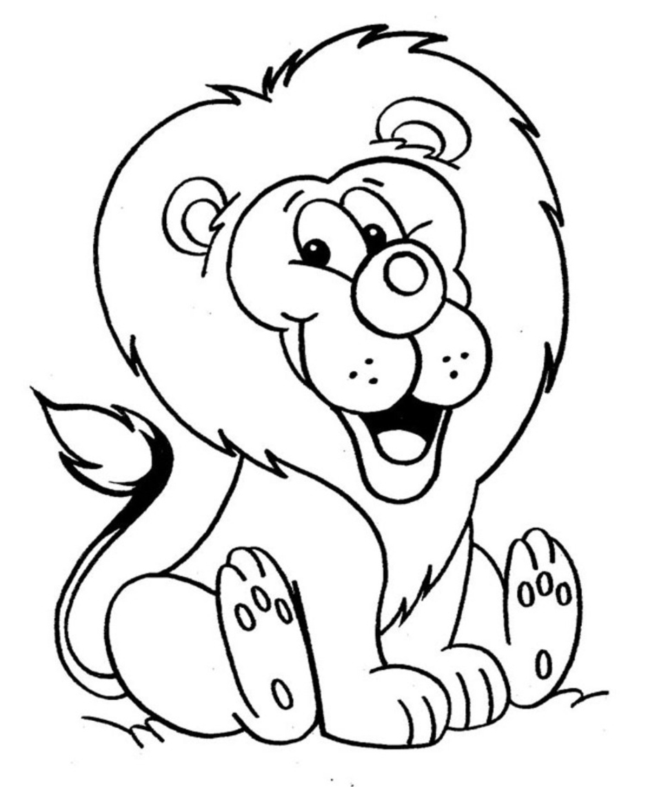 Free Printable Lion Coloring Pages For Kids Animal Place