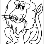 Lion Coloring Page Photos