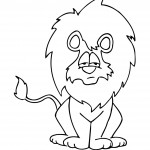 Lion Coloring Page Picture