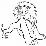 Lion Coloring Pages Image