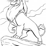 Lion Coloring Pages Photos