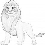 Lion Coloring Pages Picture