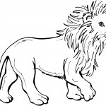 Lion Coloring Pages for Kids Photo