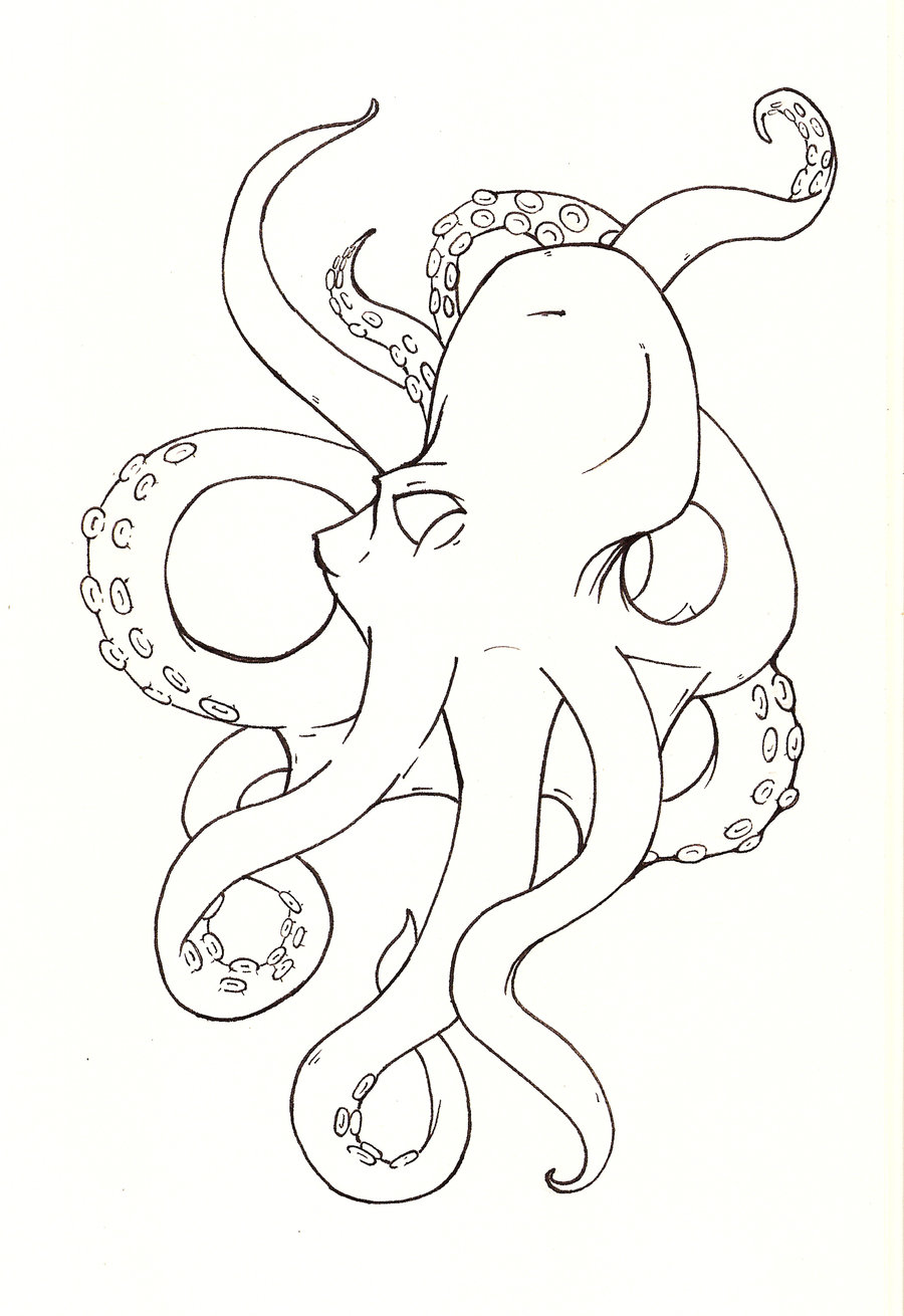 octopus coloring pages printable - photo#11