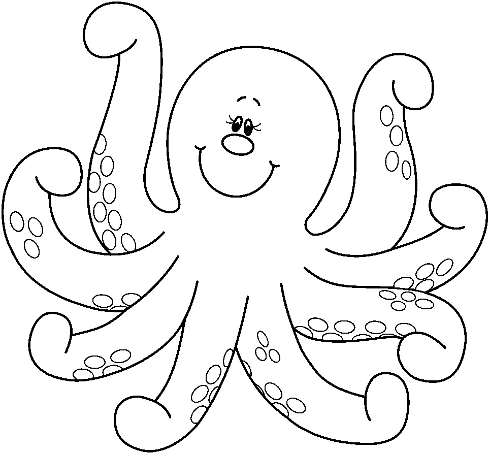 Free Printable Octopus Coloring Pages For Kids Animal Place Colouring Pages Of