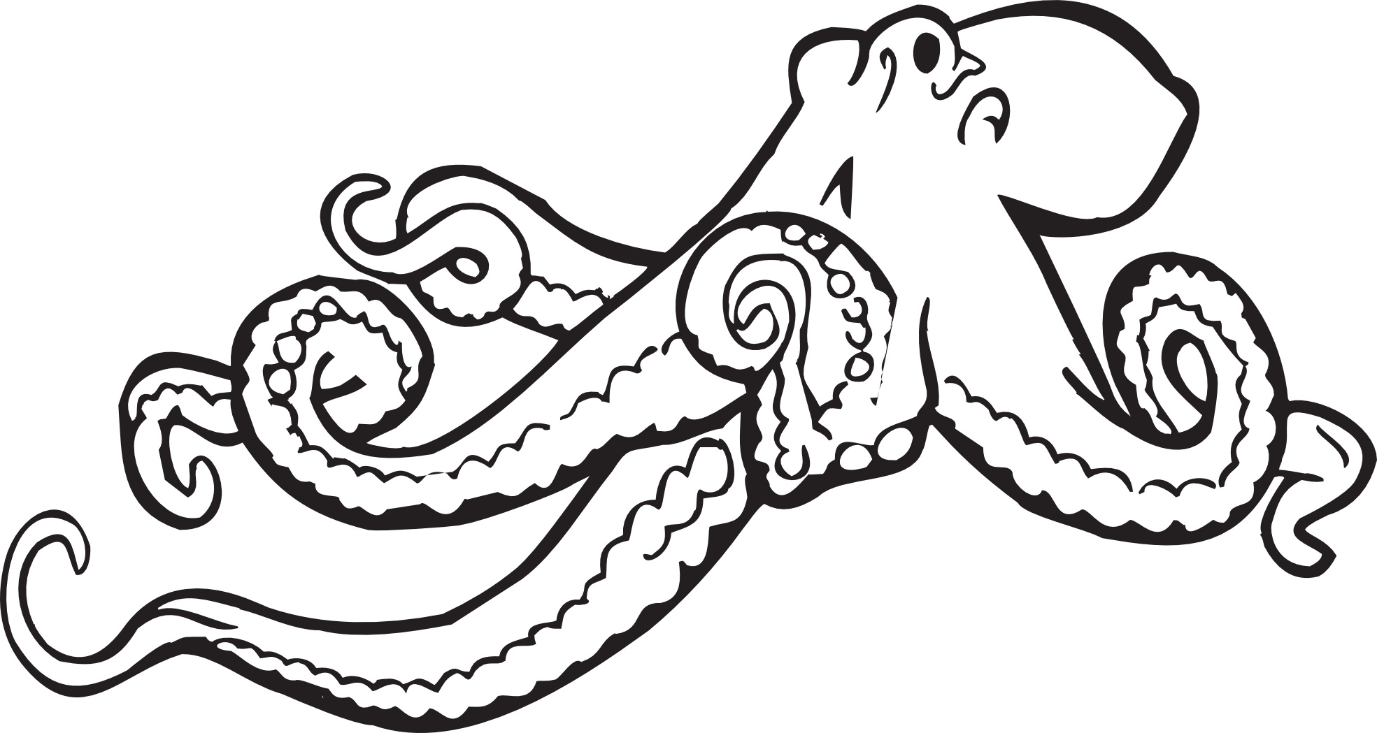 octopus coloring pages printable - photo#23