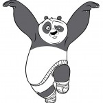Panda Bear Coloring Pages Picture