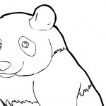 Panda Coloring Pages Images