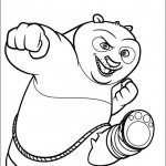 Panda Coloring Pages for Kids Photo