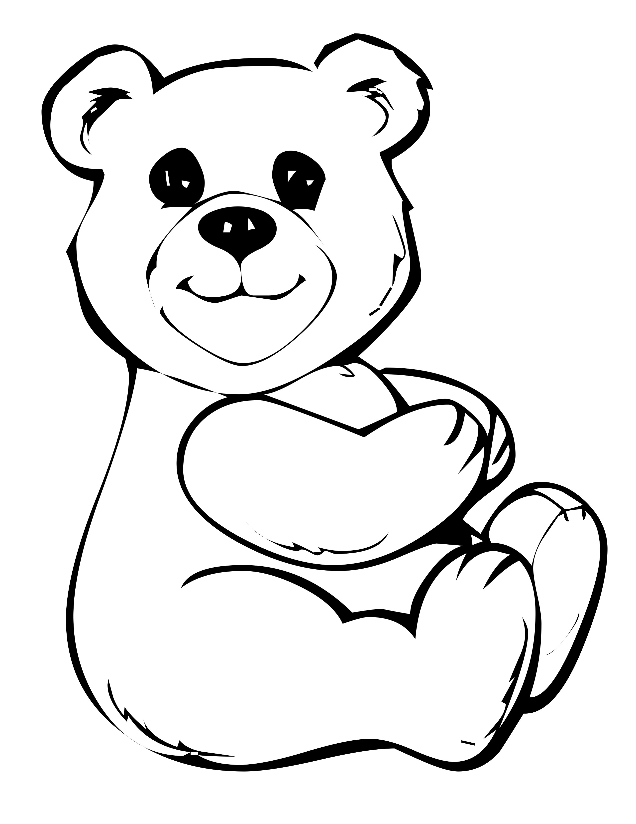 Free Printable Panda Coloring Pages For Kids | Animal Place