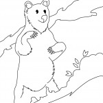 Panda Coloring Pages for Kids Picture