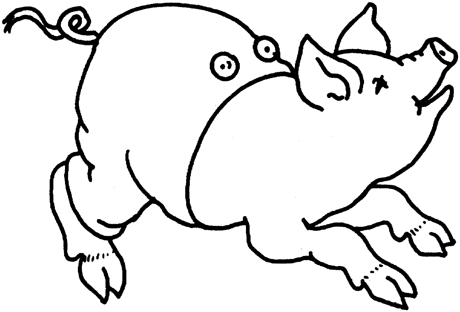 Free Printable Pig Coloring Pages For Kids | Animal Place