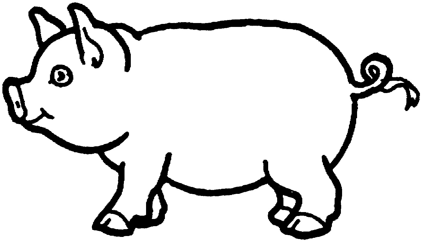 Free printable pig coloring pages for kids animal place for Piglet coloring pages