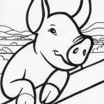 Pig Coloring Pages Image