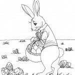 Rabbit Coloring Pages Images