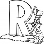 Rabbit Coloring Pages Pictures