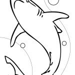 Shark Coloring Pages Picture
