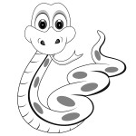 Snake Coloring Page Picture