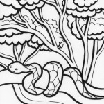 Snake Coloring Pages Images