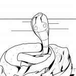 Snake Coloring Pages for Kids Photo