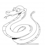 Snake Coloring Pages for Kids Pictures