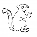 Squirrel Coloring Pages Pictures