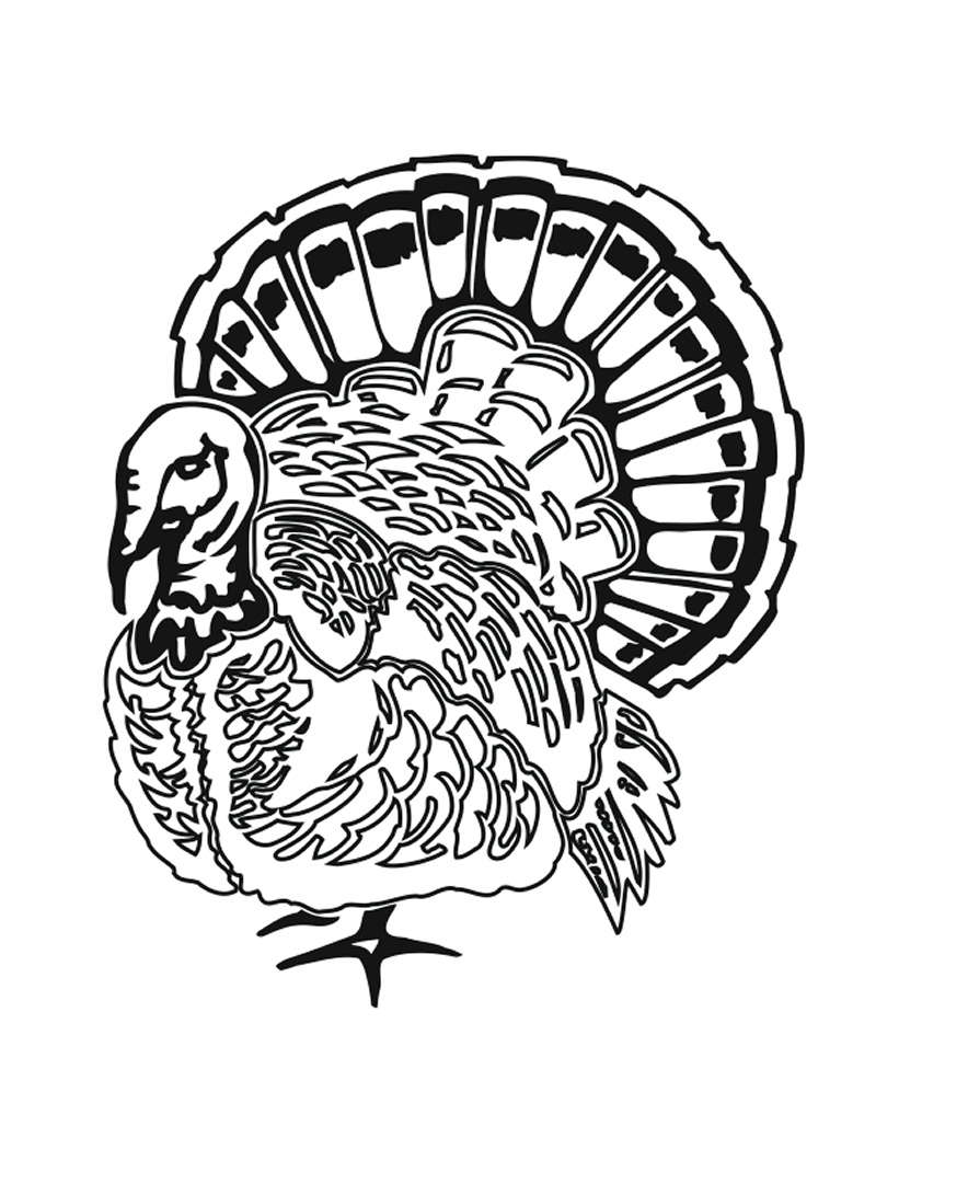 100 thanksgiving turkey coloring pages thanksgiving turkey