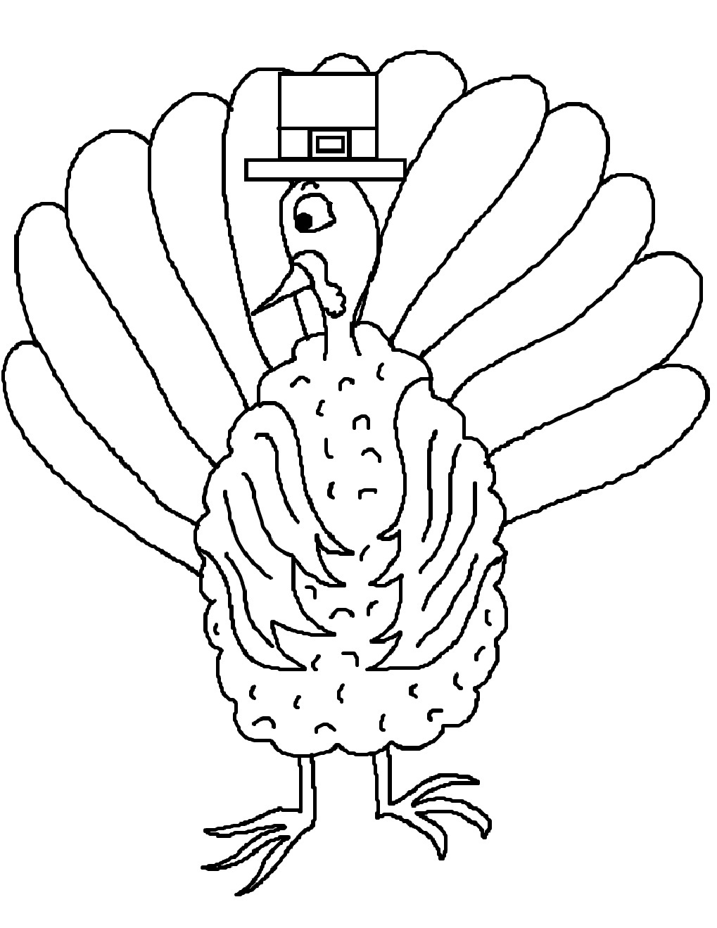 turkey wattle coloring pages - photo#28