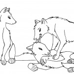Wolf Coloring Pages Images