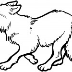 Wolf Coloring Pages for Kids Photo