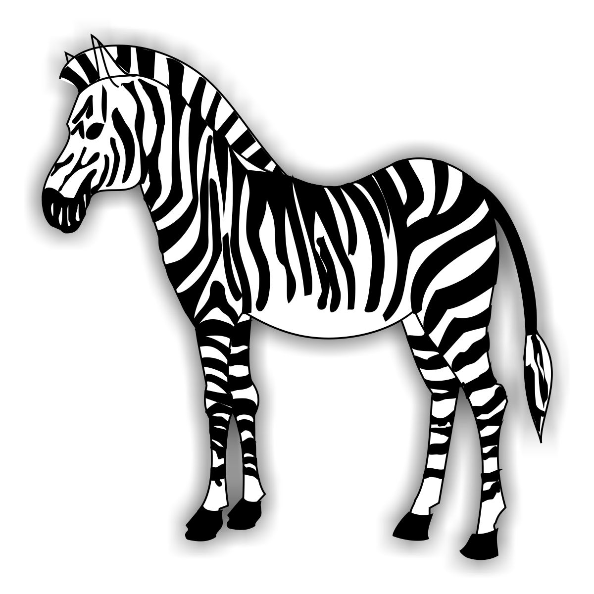 Coloring pages zebra - Free Printable Zebra Coloring Pages For Kids