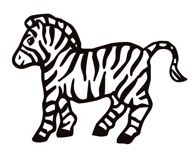 Free Printable Zebra Coloring Pages For Kids Animal Place